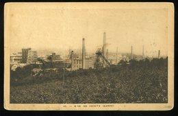 Mine De Heinitz Sarre Saar 10 1923 Klappkarte - Germany