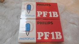 Accessoires Appareil Photo,ampoules Pour Flash, Photoflux Philips PF1B, Neuf, Sous Blister - Zubehör & Material