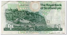 SCOTLAND,1 POUND,1996,P.351c,FINE - 1 Pound