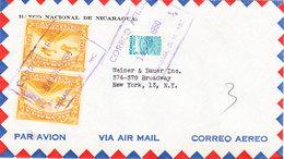 NICARAGUA AIRMAIL COVER 1950 - Nicaragua