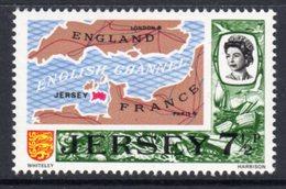 GB JERSEY - 1970-1974 DECIMAL DEFINITIVE 1971 7.5p SG 52 FINE MNH ** - Jersey