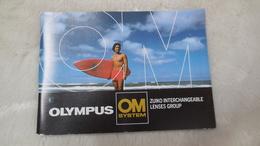 Accessoires Appareil Photo, Livret Olympus OM SYSTEME - Zubehör & Material