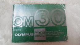 Accessoires Appareil Photo, Livret Olympus OM 30 - Zubehör & Material