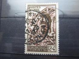 "VEND BEAU TIMBRE D ' ALGERIE N° 319 , OBLITERATION "" ORAN - AVION "" !!! - Algeria (1924-1962)"