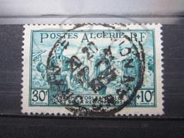 "VEND BEAU TIMBRE D ' ALGERIE N° 324 , OBLITERATION "" ORAN - AVION "" !!! - Gebraucht"
