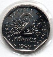 Semeuse -  2 Francs 1999 - état  FDC - Scellée - I. 2 Francs