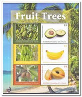 Mayreau 2018, Postfris MNH, Fruit Trees - St.-Vincent En De Grenadines
