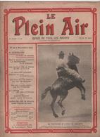 LE PLEIN AIR 03 12 1909 - COWBOYS - JEU DE BOULES - SPORTS D'HIVER - CROSS-COUNTRY - PILOTER AEROPLANE - RUGBY - LUTTE - 1900 - 1949