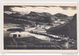 COMPS Sur ARTUBY Vallée De La Souche -bon état - Format 9x14- Circulée 1947 - Comps-sur-Artuby