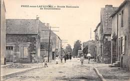 52. N° 54985.prez Sous Lafauche.route Nationale De Neufchateau - Autres Communes