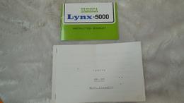 Accessoires Appareil Photo, Livret Yashica Lynx-5000 + 1 Copie En Français - Zubehör & Material