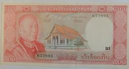 Beau Et Grand Billet Du Laos 500 Kips Pick 17 1974 Neuf/ONC - Laos
