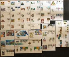 Nouvelle Calédonie FDC - Premier Jour - Lot De 44 FDC - Thématique Divers - FDC