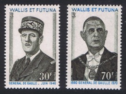 Wallis And Futuna 1st Death Anniversary Of General Charles De Gaulle MNH SG#213-214 SC#177-178 MI#234-235 - Wallis-Et-Futuna