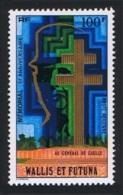 Wallis And Futuna Gen. De Gaulle Memorial 1v Airmail MNH SG#264 SC#C72 - Wallis-Et-Futuna