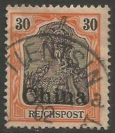 German Offices China - 1901 Germania Overprint 30pf Used  Sc 36 - Offices: China