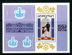 Grenada 1978 25th Anniversary Of Coronation MS MNH (SG MS949) - Grenada (1974-...)
