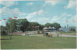 Toronto - The Ferry Dock At Centre Island, Showing Toronto Sky - FERRY BOAT  - (Ontario, Canada) - 1964 - Toronto