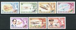 Grenada 1978 75th Anniversary Of Powered Flight Set MNH (SG 962-968) - Grenada (1974-...)