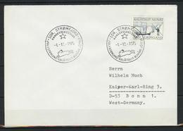 Grönland; MiNr. 93 Auf Brief Nach Deutschland; Sonderstempel;  B-64 - Storia Postale