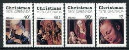 Grenada 1978 Christmas Set MNH (SG 975-978) - Grenada (1974-...)