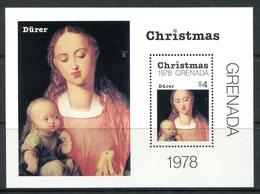 Grenada 1978 Christmas MS MNH (SG MS979) - Grenada (1974-...)