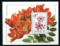 Grenada 1979 Flowers MS MNH (SG MS989) - Grenada (1974-...)