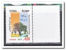 Syrië 2018, Postfris MNH, Trees, Environment Day - Syrië