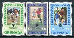 Grenada 1979 International Year Of The Child - 1st Issue Set MNH (SG 992-994) - Grenada (1974-...)