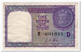 INDIA,1 RUPEE,1957,P.75f,VF+ - India