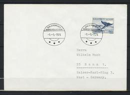 Grönland; MiNr. 47 (2x) + 48 (2x) + 50 (4x) + 84 Y + 85 Y Auf Brief Nach Deutschland;  B-1085 - Storia Postale