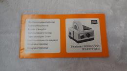 Accessoires Appareil Photo, Manuel Paximat 2000/1000 Electric, Braun - Zubehör & Material