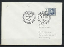 Grönland; MiNr. 91 Auf Brief Nach Deutschland; Sonderstempel;  B-295 - Storia Postale