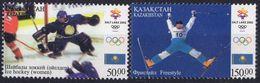 Kazakhstan 2002. Winter Olympic Games In Salt Lake Sity. Ice Hockey (women). Freestyle - Winter 2002: Salt Lake City
