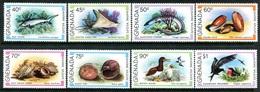 Grenada 1979 Marine Wildlife Set MNH (SG 1008-1015) - Grenada (1974-...)