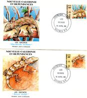 NEW CALEDONIA 1986 FDC(2) With LIZARD.BARGAIN.!! - Andere