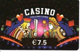 Jeu De Cartes  CASINO ROI Playing Card  Games  Bridge Karte Carte Prépayée (G 736) - Games