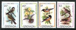Grenada 1980 Wild Birds Set MNH (SG 1060-63) - Grenada (1974-...)