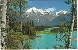 Mount Robson And Berg Lake  - (B.C., Canada) - 1973 Victoria - Victoria