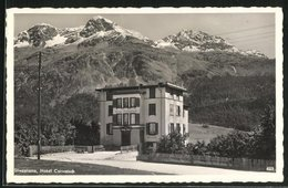 AK Silvaplana, Hotel Corvatsch, Panorama - GR Grisons