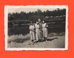 Piadena Cremona Colonia Al Lago Le Signorine Foto 1936 - Persone Anonimi