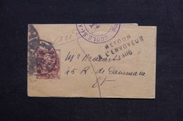 FRANCE - Bande Journal Type Blanc De Melun En Port Local Et Retour - L 28853 - Biglietto Postale