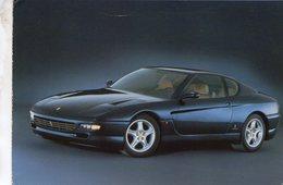 Ferrari 456 GT     -  1998    -  Carte Postale - Turismo