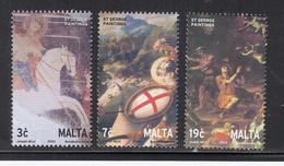 2003 Malta St. George Cross Horses Complete Set Of 5 MNH - Malta