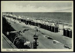 Ref 1288 - Italy Postcard - Lungo Mare Bellaria Rimini - Rimini