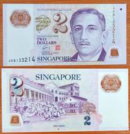Singapore 2 Dollars 2005 XF P-46d - Singapore