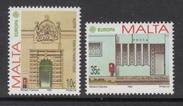 1989 Malta Post Offices Europa  Complete Set Of 2 MNH - Malta