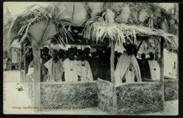 Ref 1289 - Early Ethnic Postcard - Village Senegalais Senegal West Africa - Porte Maillot - Senegal