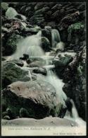 Ref 1290 - Early New Zealand Postcard - Lower Jordan Falls Kaikoura - New Zealand