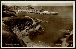 Ref 1290 - Real Photo Postcard - Rapparee Beach Ilfracombe Devon - Ilfracombe